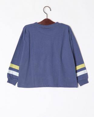 15-ネイビー オーバーサイズ長袖Tシャツを見る