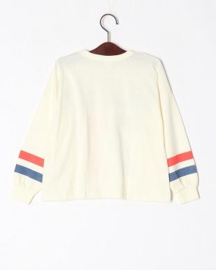 2-オフシロ オーバーサイズ長袖Tシャツを見る