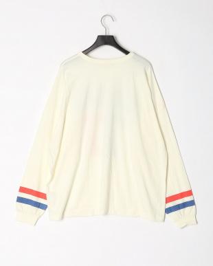 2-オフシロ オーバーサイズ長袖Tシャツ(大人)を見る