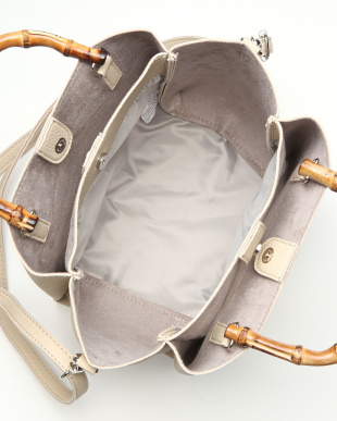 Ivory バンブーハンドルバッグを見る