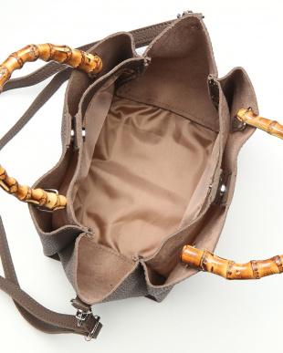 Brown バンブーハンドルバッグを見る