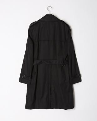 ブラック  ベンタイル 中綿ライナー & ベルト付 ダブルブレステッド トレンチコートを見る