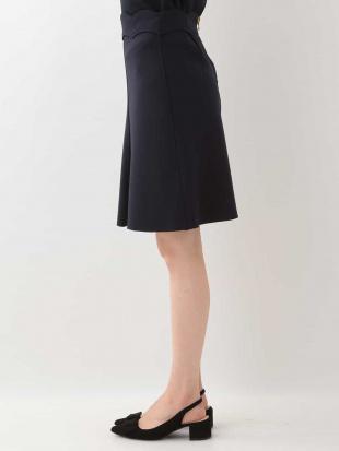 ネイビー スカラップデザインスカート TARA JARMONを見る