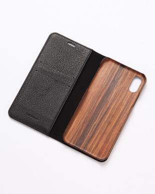 ブラック REMY(レミー)ブラック iPhoneX/XS 兼用フランスレザー 木製ケースを見る