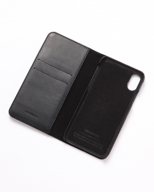 ブラック PEBBLY(ぺブリー)ブラック iPhoneX/XS 兼用イタリアレザーケースを見る