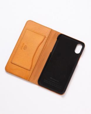 イエロー PEBBLY(ぺブリー)イエロー iPhoneX/XS 兼用イタリアレザーケースを見る