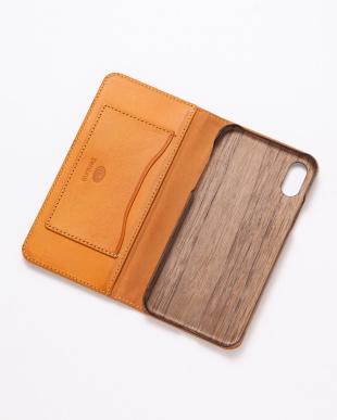 イエロー PEBBLY(ぺブリー)イエロー iPhoneX/XS 兼用イタリアレザー 木製ケースを見る