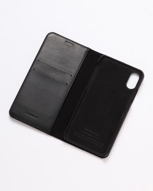 ブラック×シルバー GLEAM(グリーム)ブラック×シルバー iPhoneX/XS 兼用 イタリアレザーケースを見る