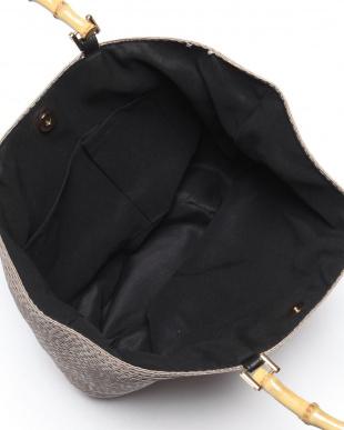 ブラック バンブーHANDLEグログランTAPE BAGを見る