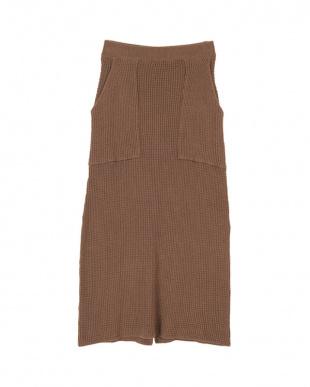 モカ ワッフルタイトスカートを見る