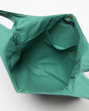 グリーン ワイドバッグ リネン レンクを見る