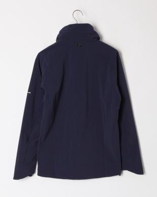 ネイビー 4way stretch urban style hoodieを見る