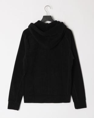 ブラック Terry cloth fleece hoodieを見る