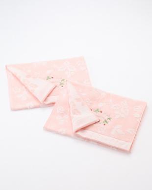 ピンク WEDGEWOOD シャーリングフェイスタオル ピンク  同色2枚を見る