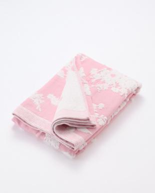 ピンク WEDGEWOOD 甘撚りガーゼバスタオル ピンクを見る