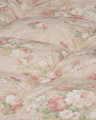 ピンク ハンガリー産ホワイトダックダウン85%使用 羽毛布団 シングル 1.1kg 日本製を見る