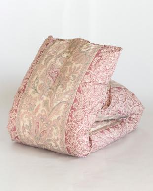 ピンク ハンガリー産ホワイトダックダウン93%使用 羽毛布団 シングル 1.1kg 日本製を見る