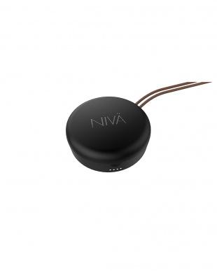 ブラック NIVA ワイヤレスイヤフォンを見る