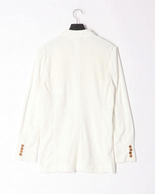 ホワイト pile notched jacketを見る