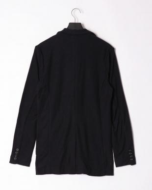 ネイビー pile notched jacketを見る