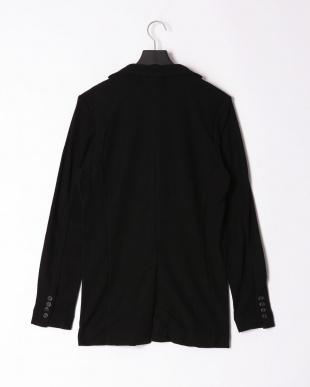 ブラック pile notched jacketを見る