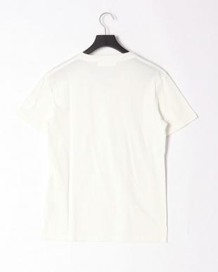 ホワイト sleeve print t-shirtを見る