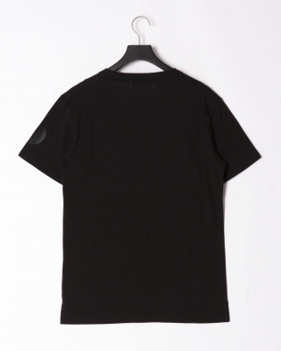 ブラック sleeve print t-shirtを見る