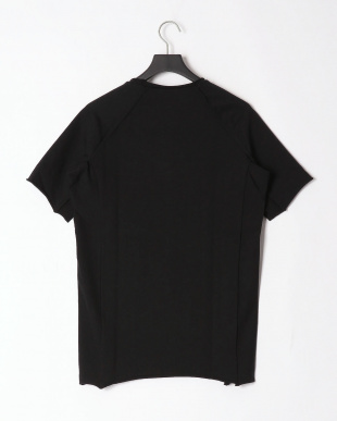 ブラック cotton jersey short sleeve t-shirtを見る