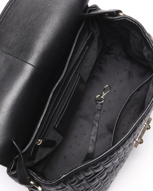 LOCK QUILT SATCHEL:BLACKを見る