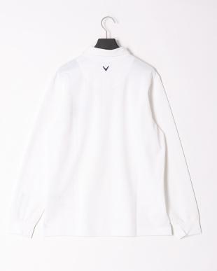 ホワイト 18MファインカノコB.D.カラーシャツを見る