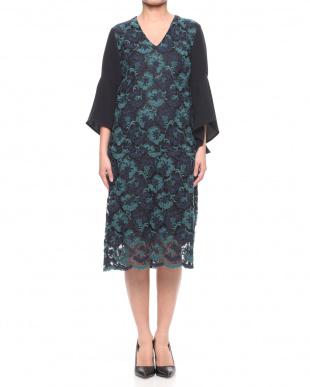 マスタード Embroidery Lace Dressを見る