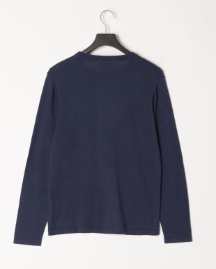 コン イタリアMANIFATTURE TESSILI BRESCIANE社の素材を使ったニットクルーネックTシャツを見る