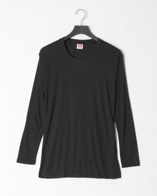ブラック ヒートビズクルーネック長袖Tシャツ 吸湿発熱 中厚 2点セットを見る