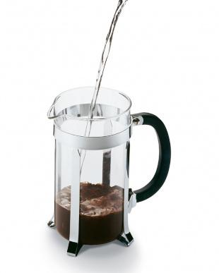 ブラック カフェティエラ フレンチプレスコーヒーメーカー 1.0Lを見る