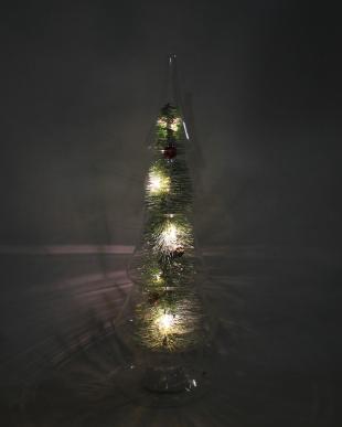 ガラスツリー LEDライト M(クリスマス)を見る