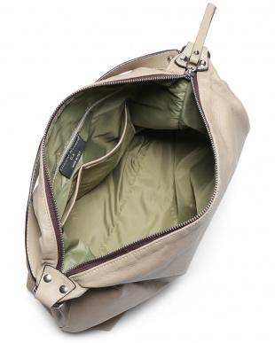 sabbia カーフスキン サイドジップ 2WAY ワンハンドル バッグを見る