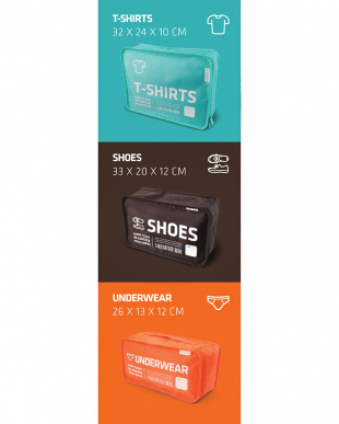 mix IN-LUGGAGE POUCH INDEX-CUBE Aを見る