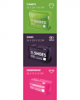 mix IN-LUGGAGE POUCH INDEX-CUBE Bを見る