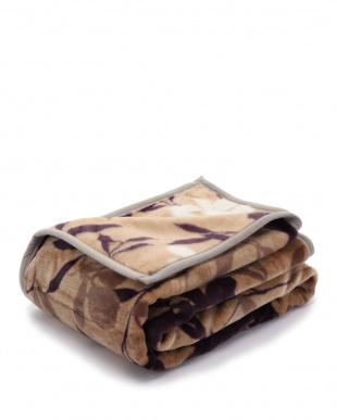 ベージュ mee ME61 アクリルニューマイヤー毛布  シングル 140×200cmを見る