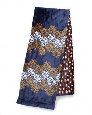 ネイビー ボレリー  ニューマイヤー毛布 シングル 140×200cmを見る
