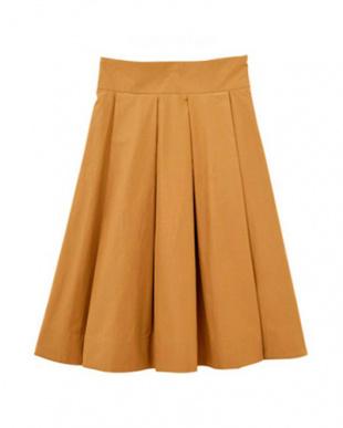 スモーキーオレンジ [Made in JAPAN]ボックスタックタフタスカートを見る