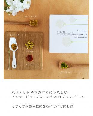 「いろいろバリア」のためのノンカフェインブレンドティー エルダーフラワー&レモンバーム茶 BAGタイプ×1を見る