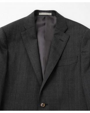 グレー SL クリアチェックジャケット ナノ・ユニバースメンズ(オリジナル)を見る