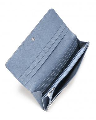 ホワイト かぶせ長財布を見る