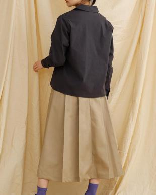 チャコールグレー ミリタリーシャツ1952-0903を見る