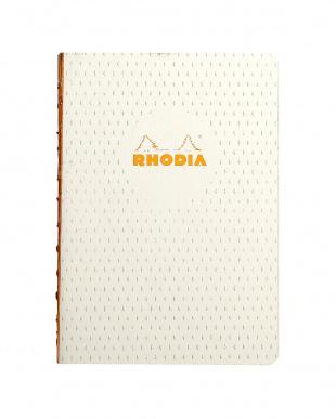 アイボリー/ブラック ロディア HERITAGEコレクション:かがり綴じノート 2冊セットを見る