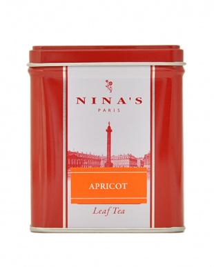 ニナス スクエア缶ティーバッグ アプリコット/アップル 2個セットを見る