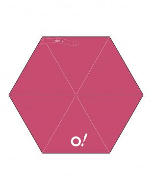 ピンク  折り畳み傘 オー!ブレラを見る