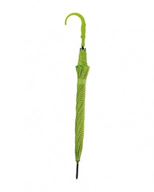 グリーン  長傘 クロコダイルを見る