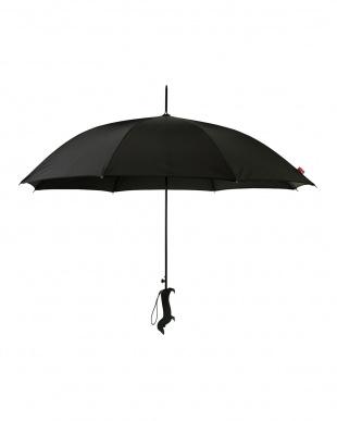 ブラック 長傘 ドッグを見る